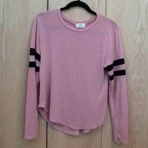 Tops - Pink striped Revive shirt